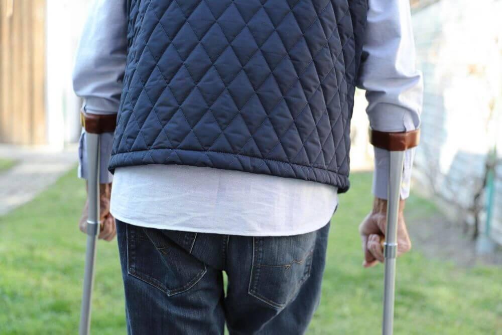 tipos de muletas antebraco passo a passo escolher tamanho